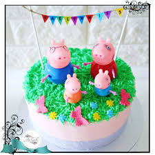 peppa pig cake peppa pig cake singapore white spatula
