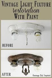 how to create a faux antique brass finish with paint