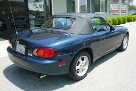 mazda convertible blue 1999 mazda miata convertible