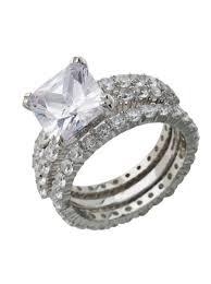Sterling Silver Wedding Rings by Fake Engagement Rings U0026 Fake Diamond Wedding Ring Jewelry