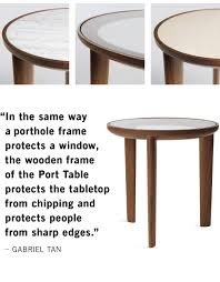 Dwr Coffee Table Design Within Reach Just In A Porthole Inspired Table Milled