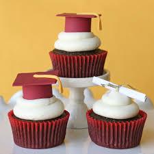 graduation cupcake ideas graduation cupcakes and how to make fondant graduation caps