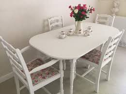 shabby chic kitchen furniture small shabby chic kitchen table white color with 4 chairs almosthomebb