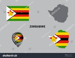 Zimbabwe Map Map Zimbabwe Symbol Stock Vector 273028631 Shutterstock