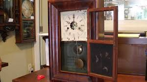 Forestville Mantel Clock Antique New Haven 1 Day Miniature Og Mantel Clock Youtube