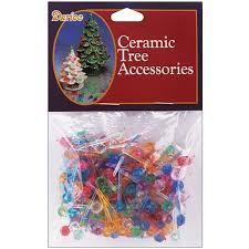 darice multi color ceramic tree bulbs pack of 250