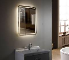 bathroom cabinets led with bathroom mirrors illuminated bathroom