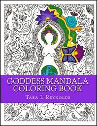 honoring goddess creative u2013 goddess mandala coloring