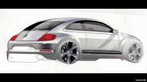 2012 volkswagen beetle design sketch hd wallpaper 46