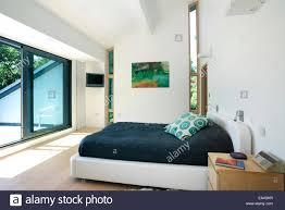 double bedroom doors double bedroom with sliding doors to balcony in residential house