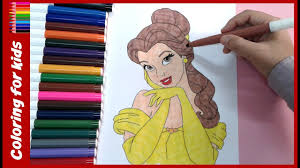 coloring pages of disney characters princess belle coloring