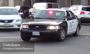 california red light law police car responding lapd slicktop steady burn red light youtube