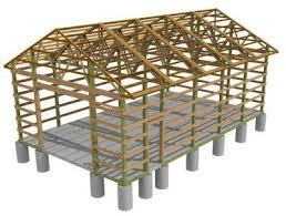 pole barn build a wood floor with pole barn construction shed