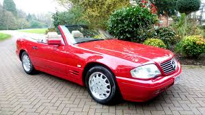 rich owner abandoned this 81 mile 1996 sl500 after losing her keys