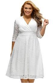 top 25 for best elegant white summer dresses plus size fine plus