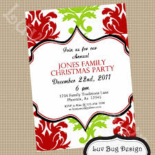 funny holiday party invitations for kids christmas party