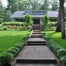 Backyard Walkway Ideas by Outdoor Modern Concrete Walkways With Grass In Between Design