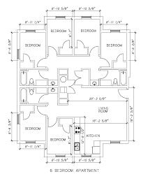 6 bedroom floor plans housing and residence seahawk crossing