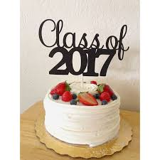 cake toppers glitter class of 2017 cake topper 2017 graduation cake