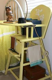 Wooden High Chair For Sale Vintage Diana Repurposed High Chair