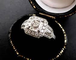 asscher cut diamond etsy