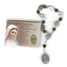 rosary of the seven sorrows seven sorrows decade rosaries from italy italian catholic gifts