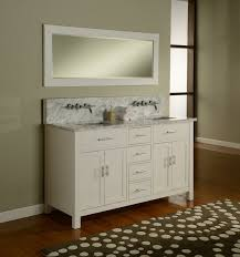 White Wall Mounted Bathroom Cabinets by J U0026 J International 63