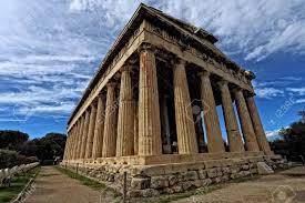 imagenes de antigua atenas templo de hefesto en el ágora antigua atenas grecia fotos