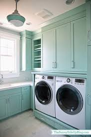 color spotlight wythe blue from benjamin moore laundry rooms