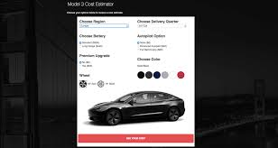 tesla calculator estimates how much it actually costs to buy a model 3