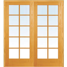 mmi door 49 5 in x 81 75 in classic clear glass 10 lite true