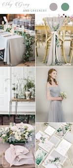 white and grey wedding dress bridesmaid dresses stylish wedd