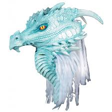 the collector halloween mask artic frost dragon premiere mask game of thrones dragons