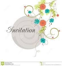 Invitation Card Design Concept Of Creative Invitation Card Design Stock Illustration