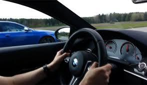 bmw vs audi race 700hp manhart racing bmw m6 coupe vs 743hp mtm audi rs6