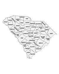 county map of sc printable south carolina county map