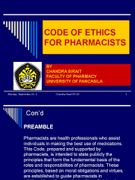 Counseling Code Of Ethics Philippines Code Of Ethics For Pharmacists Pharmacy Health Professional
