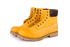 yellow boots s yellow boots stock photo image of white hike brown 9887894