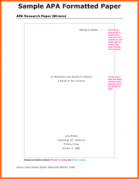 apa format research paper soap format