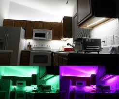 Under Cabinet Led Strip Light by Above Cabinet And Under Cabinet Led Lighting How To Install Led
