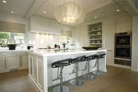 Decorating With Chandeliers Brilliant Chandeliers In Kitchens Over Islands Chandelier Over