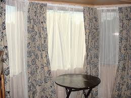 Curtain Hanging Ideas Window Curtain Fresh Hanging Curtains On Bay Windows Hanging