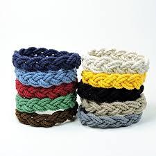 nautical colors amazon com narrow sailor knot rope bracelet nautical colors handmade