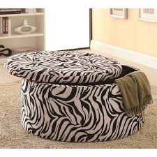 Fabric Coffee Table by Coffee Table Excellent Oversized Ottoman In Your Zebra On Sale