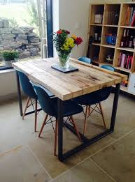 tavoli cucina wayne tavolo da cucina vintage industrial in legno massello xlab