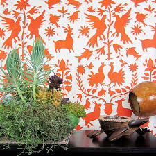 Stencils For Home Decor Otomi Tribal Stencil Pattern Animal Wall Stencils For Nursery Decor
