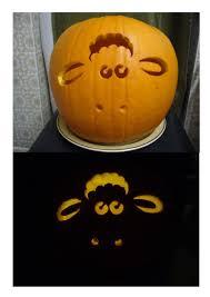 shaun sheep pumpkin artjuggler deviantart