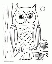 the stylish owl printable coloring pages intended to encourage to