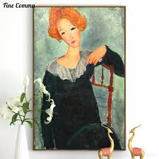 modigliani woman with a fan buy amedeo modigliani poster and get free shipping on aliexpress com