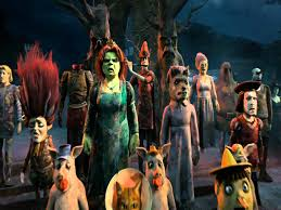 shrek special halloween subtituloado youtube